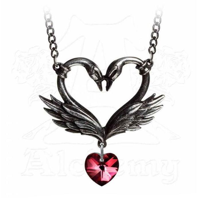 obojek ALCHEMY GOTHIC - The Black Swan Romance