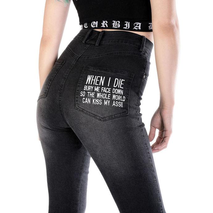 kalhoty dámské DISTURBIA - Kiss My Ass