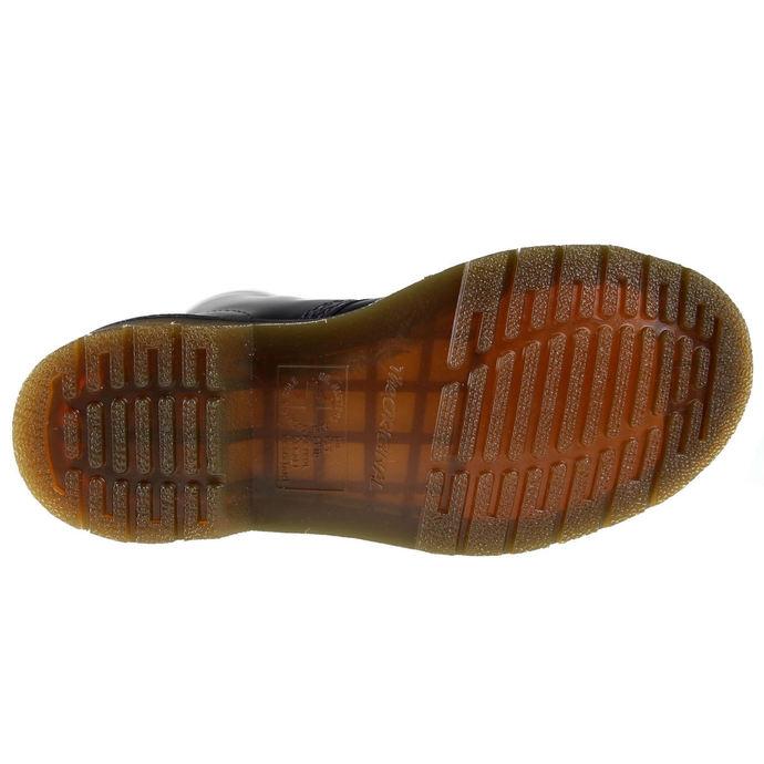 boty DR. MARTENS - 10 dírkové - DM 1490 BLACK SMOOTH