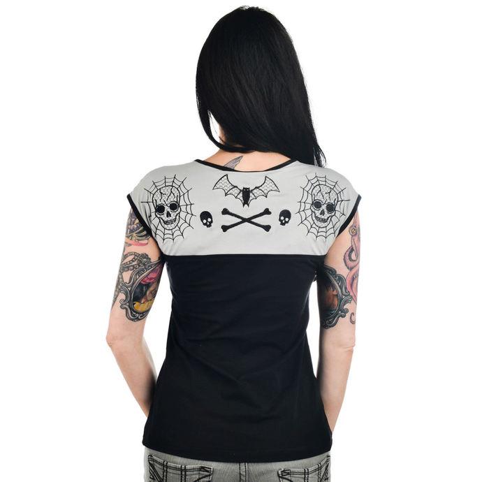 tričko dámské (top) TOO FAST - DAME TOP - BAT LACE