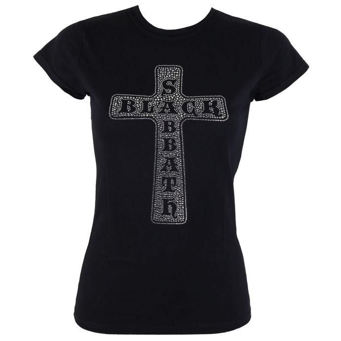 tričko dámské Black Sabbath - Cross - ROCK OFF