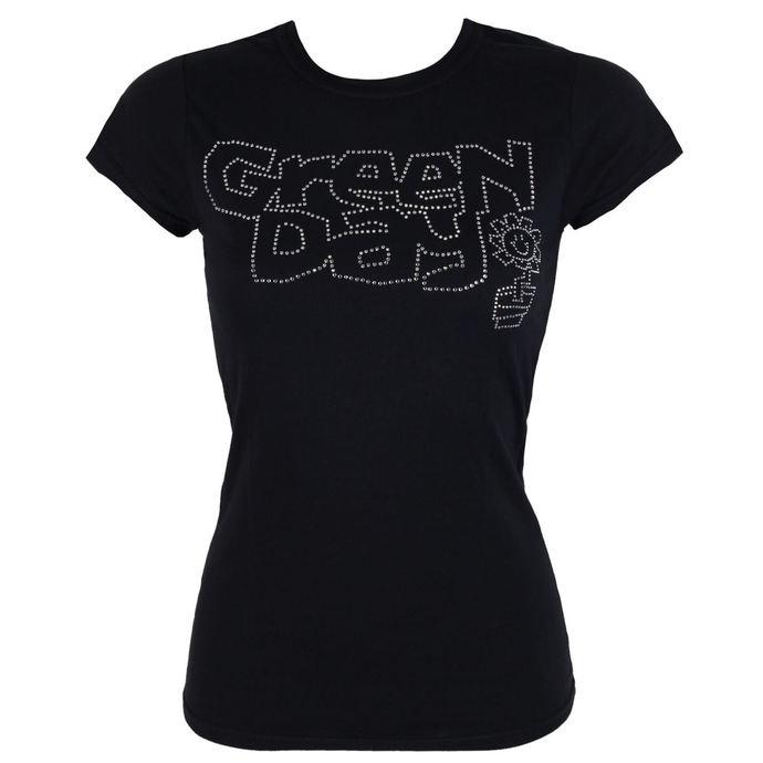 tričko dámské Green Day - Flower Pot - ROCK OFF