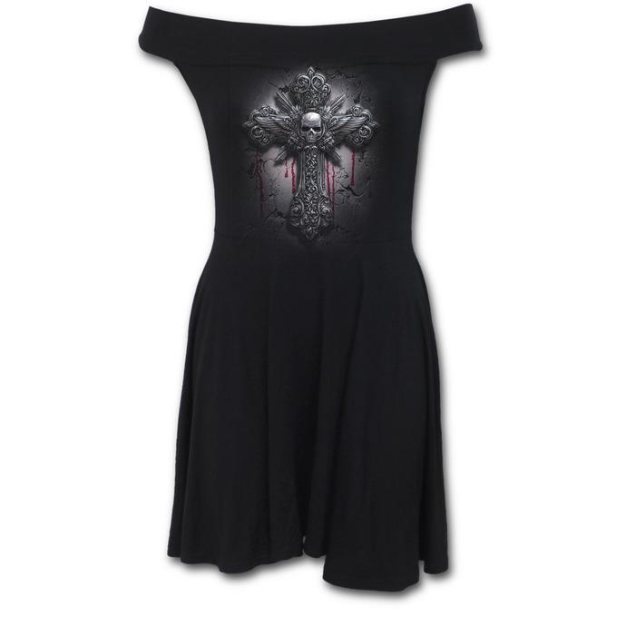 šaty dámské SPIRAL - CRUCIFIX