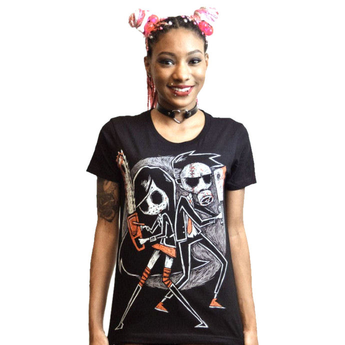 tričko dámské Akumu Ink - Us Vs. Them