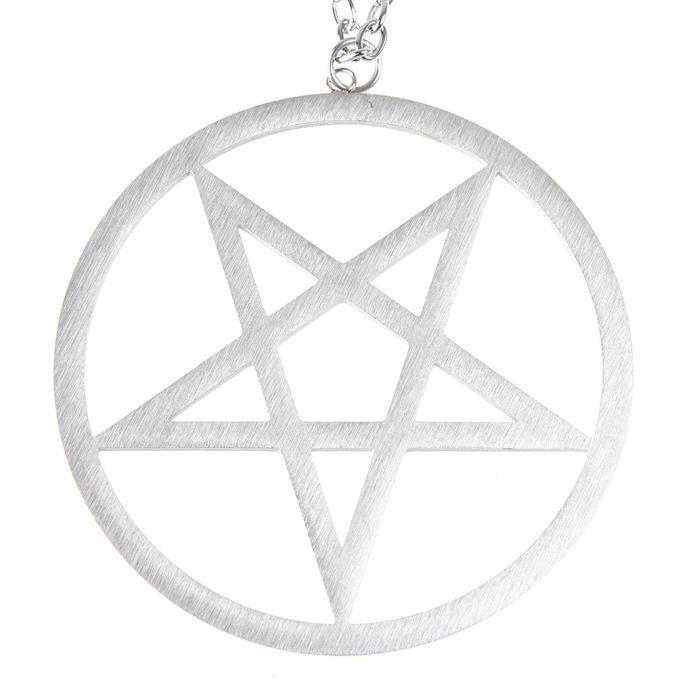 obojek ETNOX - Big Plain Pentagram