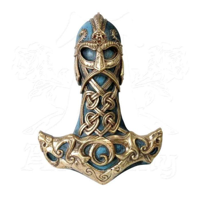 dekorace ALCHEMY GOTHIC - Thors Hammer