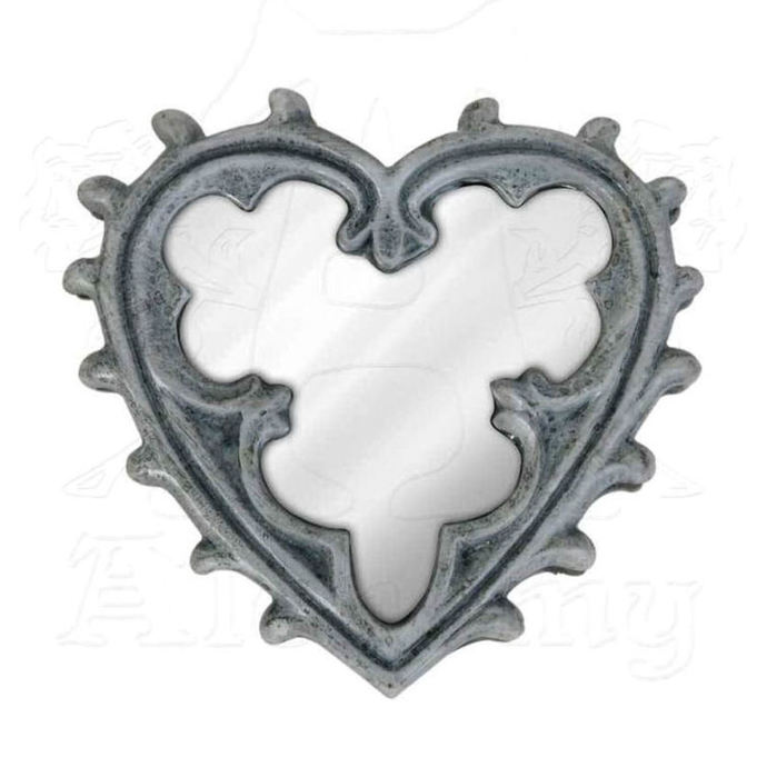 dekorace (zrcátko) ALCHEMY GOTHIC - Gothic Heart