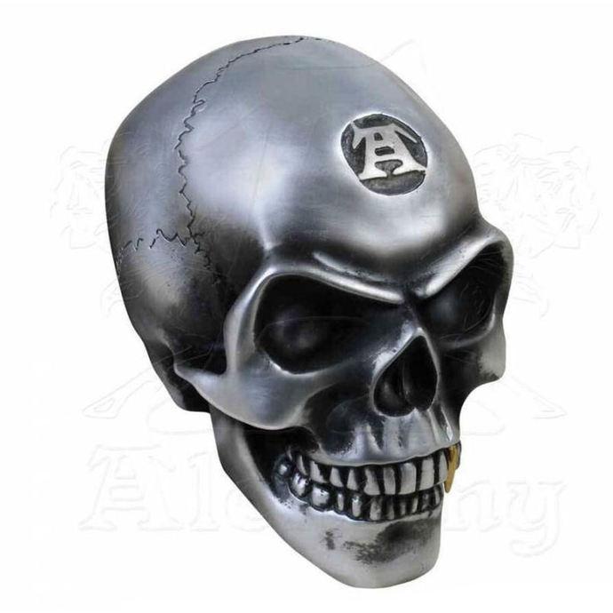 dekorace ALCHEMY GOTHIC - Metalised Alchemist Skull