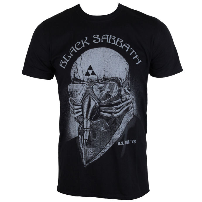 tričko pánské Black Sabbath US Tour 78 - Black - ROCK OFF
