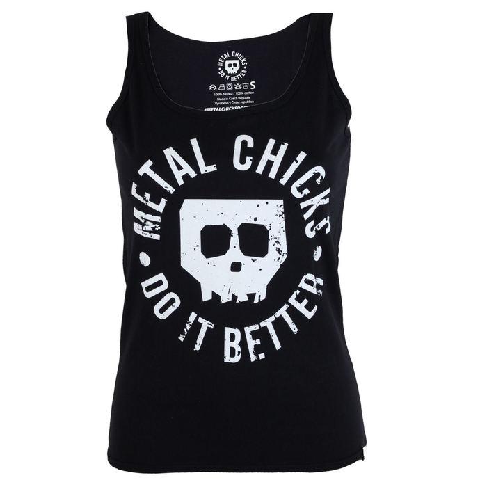 tílko dámské METAL CHICKS DO IT BETTER - Skull