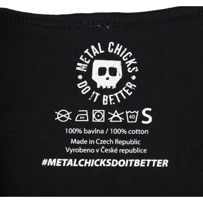 tričko dámské METAL CHICKS DO IT BETTER - Metal chicks