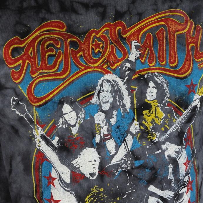 tričko pánské Aerosmith - Group Shield - BAILEY