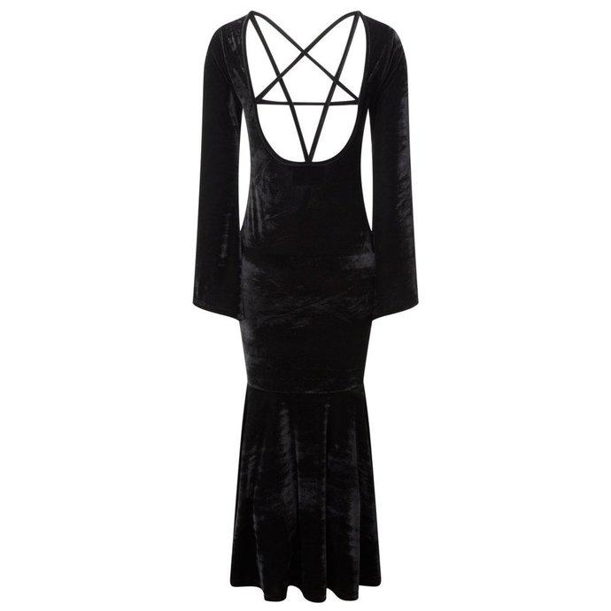 šaty dámské KILLSTAR - Bathory - Black