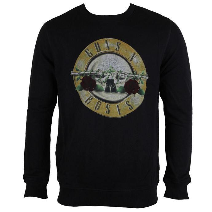 mikina pánská Guns N´ Roses - Drum - Black - AMPLIFIED
