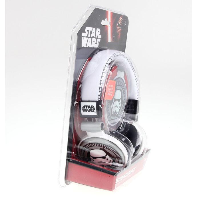 sluchátka Star Wars - Storm Trooper - WHT