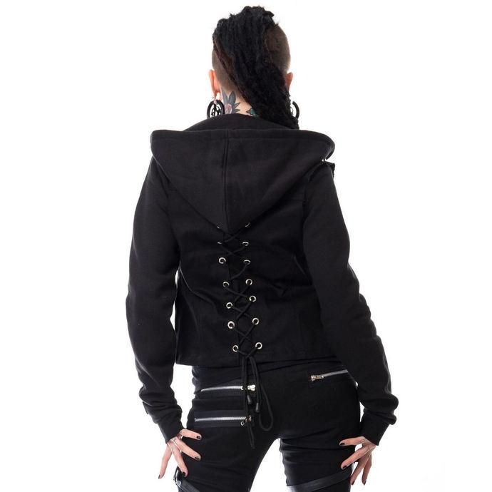 set dámský mikina+vesta VIXXSIN - Twin - Black