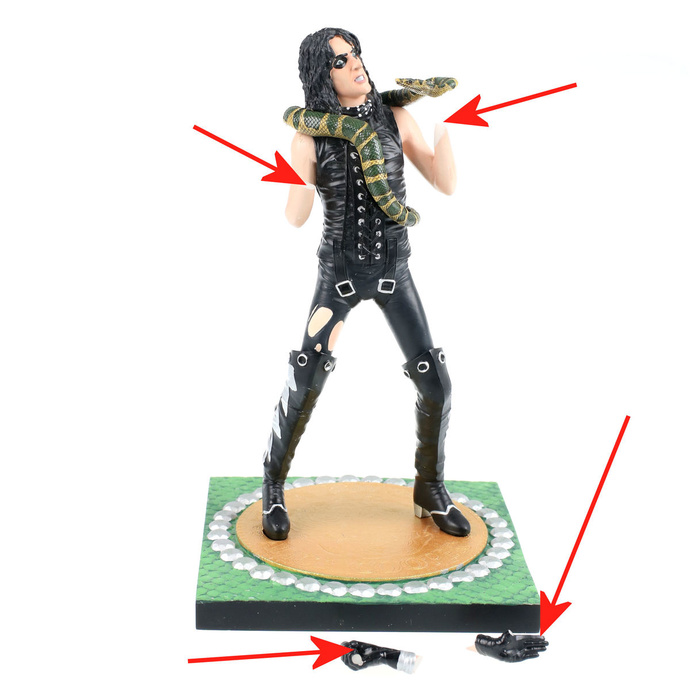 figurka Alice Cooper - KNUCKLEBONZ - KBALICE200 - POŠKOZENÁ