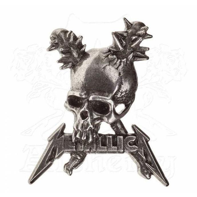 připínáček Metallica - ALCHEMY GOTHIC -  Damage