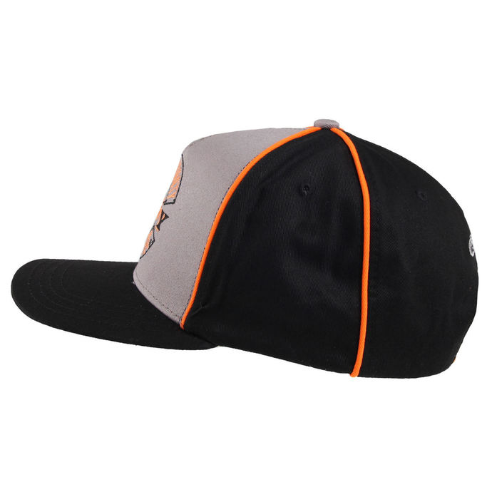 kšiltovka ORANGE COUNTY CHOPPERS - Paul Senior - Black/Grey/Orange
