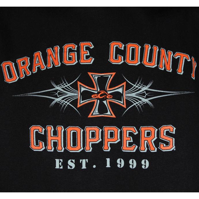 mikina pánská ORANGE COUNTY CHOPPERS - 99 - Pinstripe/Black