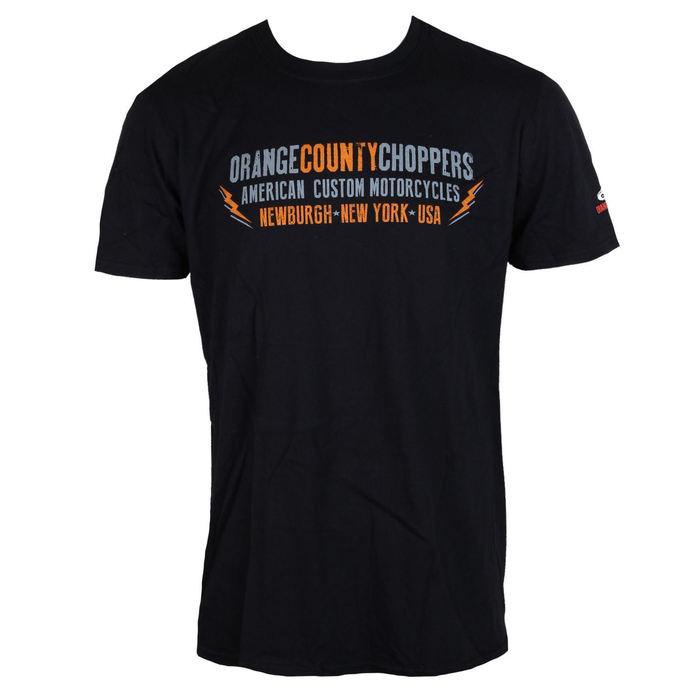 tričko pánské ORANGE COUNTY CHOPPERS - Lightning - Black