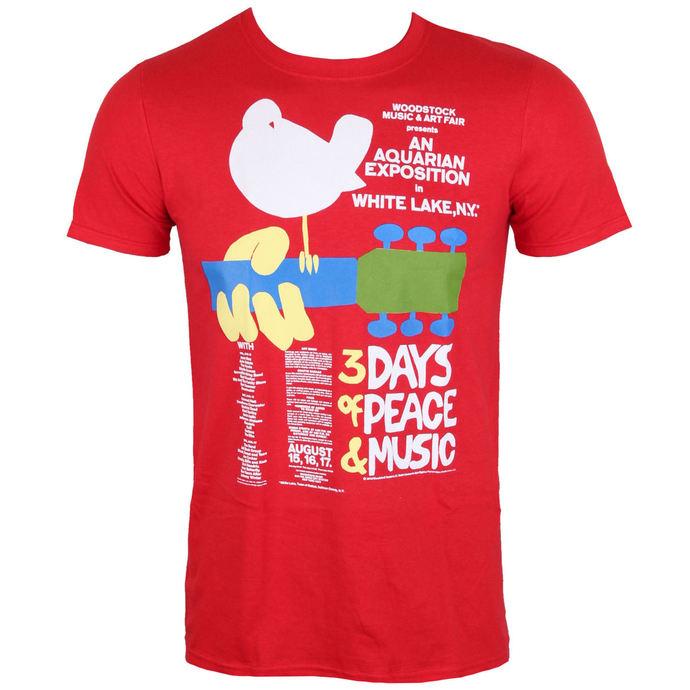 tričko pánské Woodstock- Poster- LOW FREQUENCY