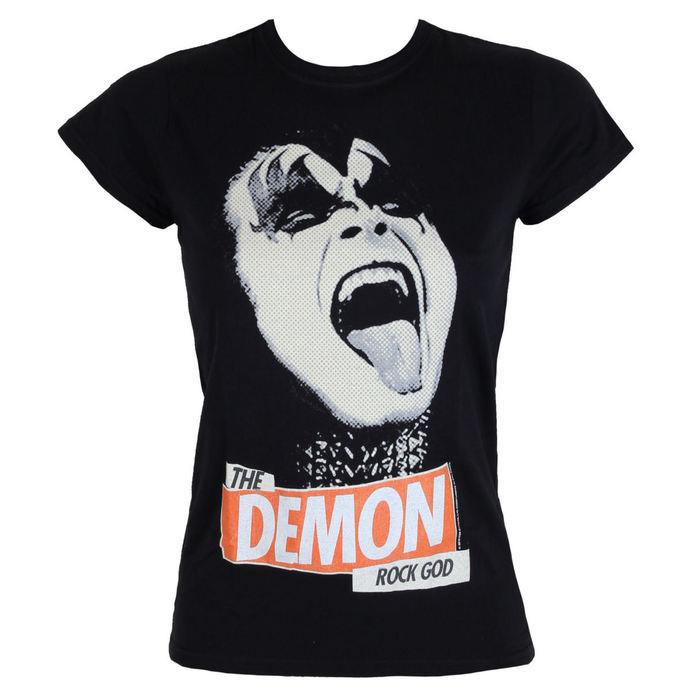 tričko dámské Kiss - Rock God - LOW FREQUENCY