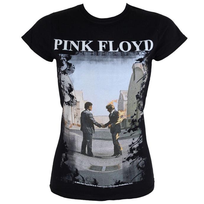tričko dámské Pink Floyd - Burning Man - LOW FREQUENCY