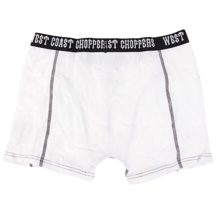 boxerky West Coast Choppers - WHITE