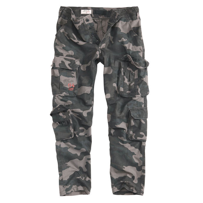 kalhoty pánské SURPLUS - AIRBORNE SLIMMY - BLACK CAMO
