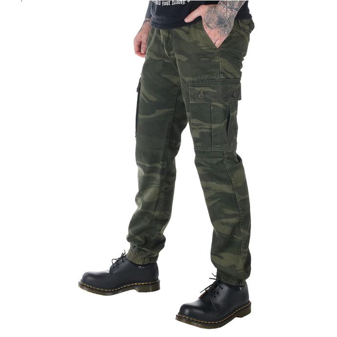 kalhoty pánské SURPLUS - GREEN-CAMO