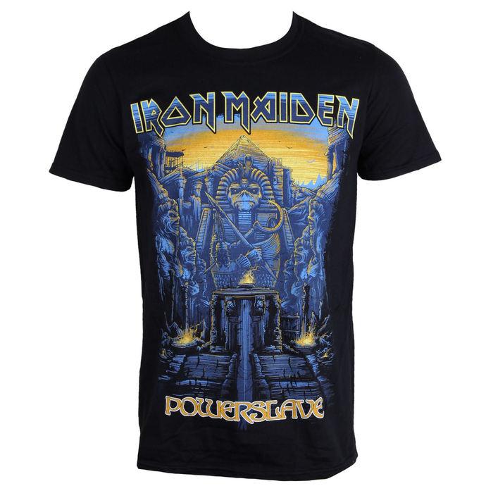 tričko pánské Iron Maiden - Dark Ink Powerslaves - ROCK OFF