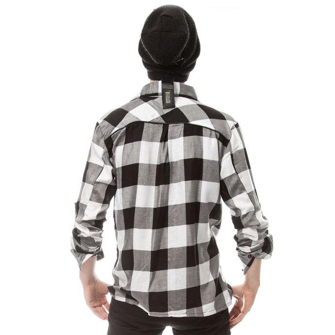 košile pánská VIXXSIN - LEFT FIELD - WHITE