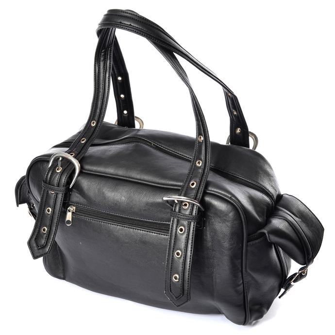kabelka (taška) POIZEN INDUSTRIES - BECCA - BLACK
