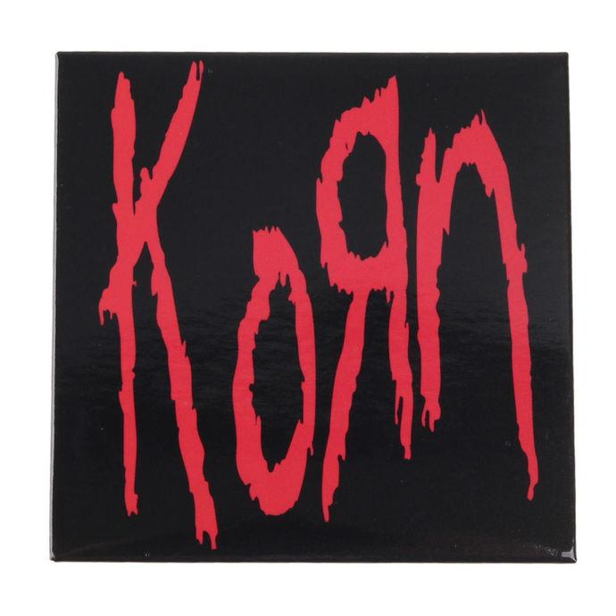 magnet Korn - Logo - ROCK OFF