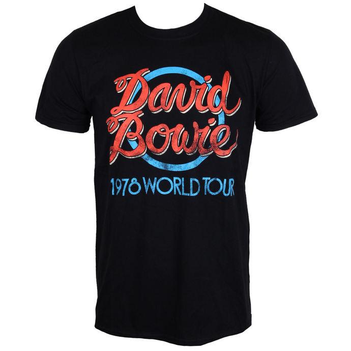 tričko pánské David Bowie - 1978 World Tour - ROCK OFF