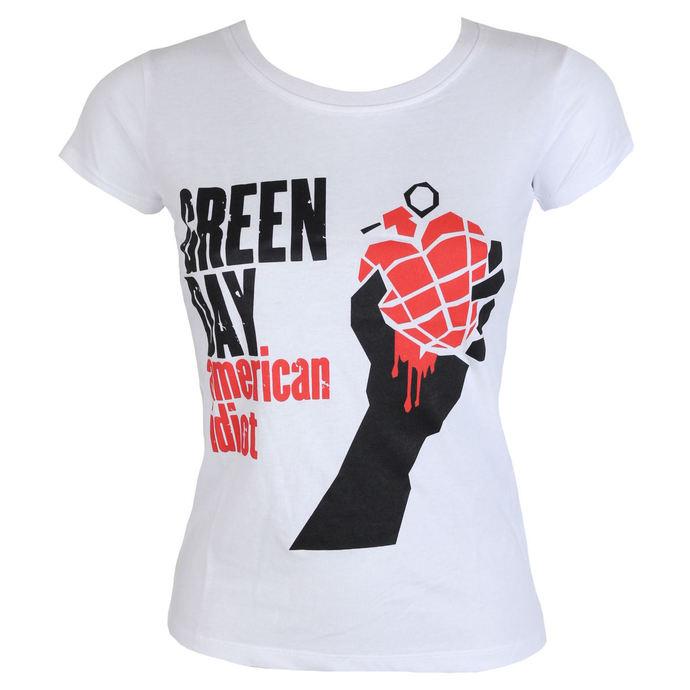tričko dámské Green Day - American Idiot - ROCK OFF