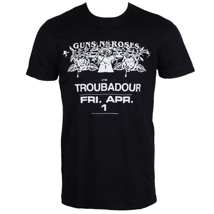 tričko pánské Guns N' Roses - Troubadour - ROCK OFF