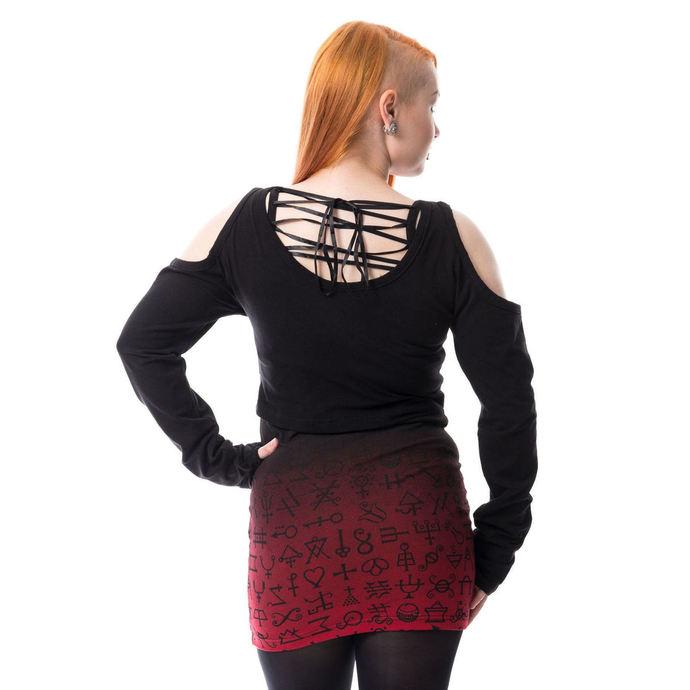 komplet (tunika+tričko) Heartless - OCCULT TWIN - BLACK/RED