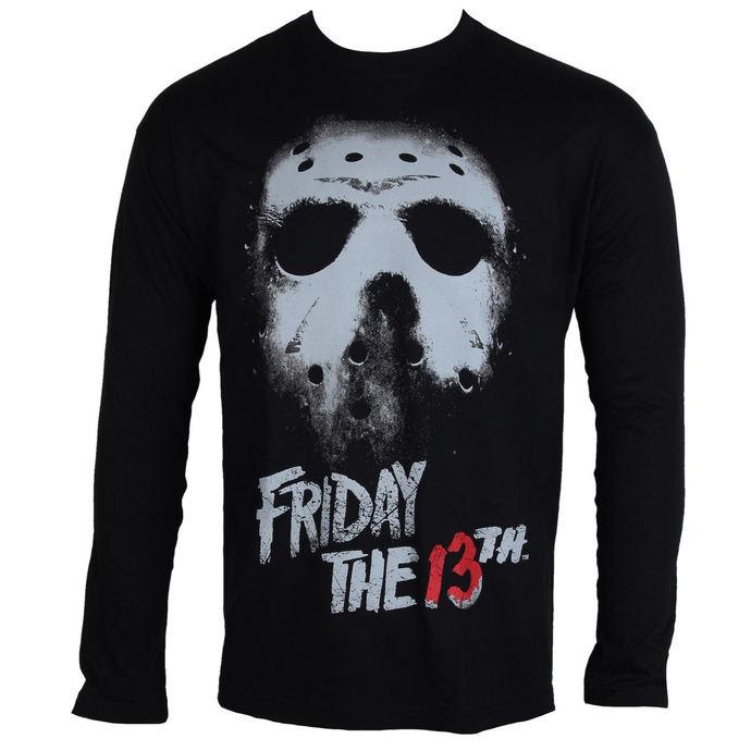 tričko pánské s dlouhým rukávem Friday The 13th - Black - HYBRIS
