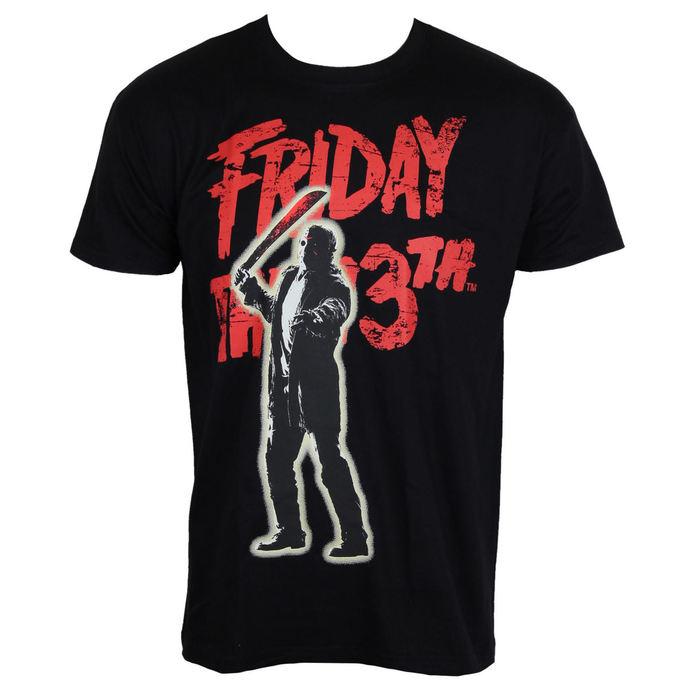 tričko pánské Friday The 13th - Jason Voorhees - Black - Hybris