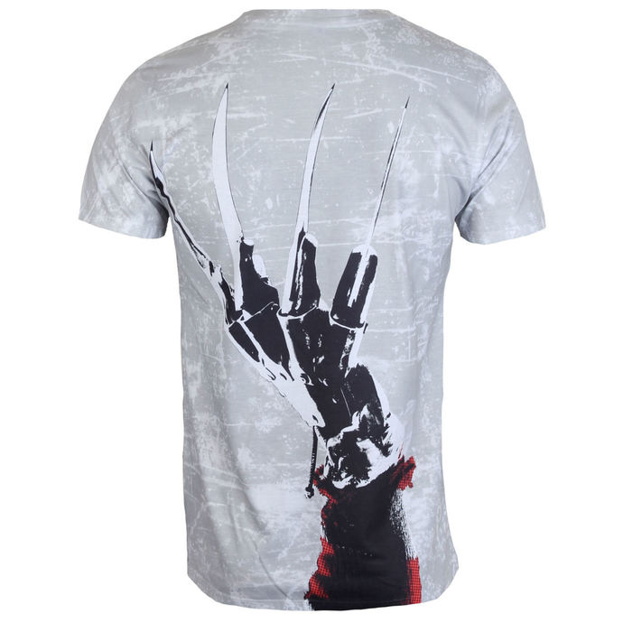 tričko pánské Noční můra z Elm Street - Freddy Krueger - Allover - HYBRIS
