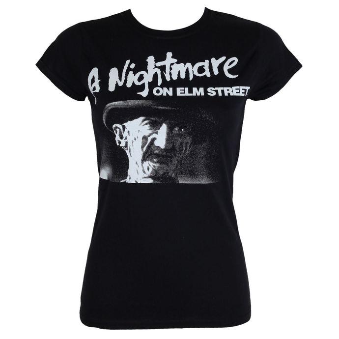 tričko dámské Noční můra z Elm Street - Black - HYBRIS