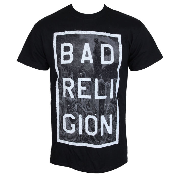 tričko pánské Bad Religion - Valley Of Death - KINGS ROAD