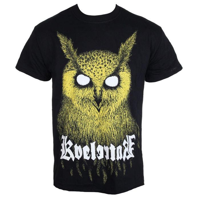tričko pánské Kvelertak - Barlett Owl Yellow - KINGS ROAD