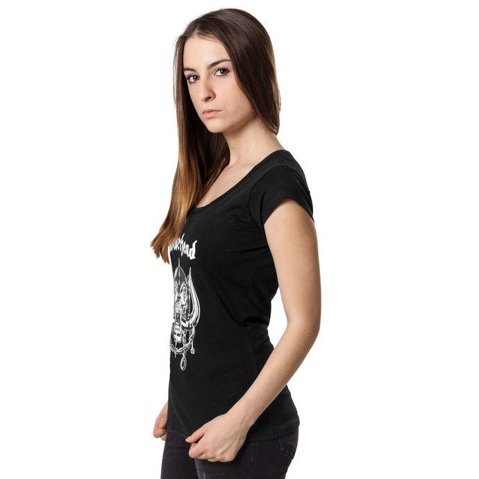 tričko dámské Motörhead - Logo Cutted Back