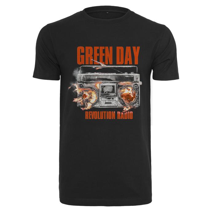 tričko pánské Green Day - Radio
