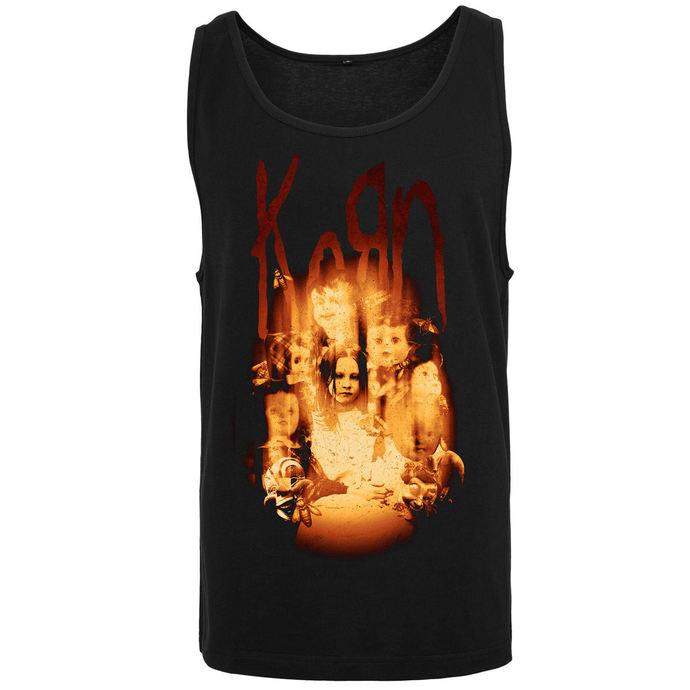 tílko pánské Korn - Face in the Fire