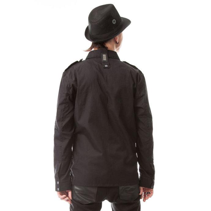 košile pánská Vixxsin - TORN - BLACK