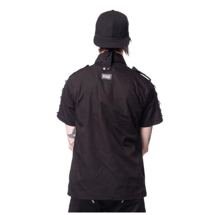 košile pánská Vixxsin - THORIN - BLACK